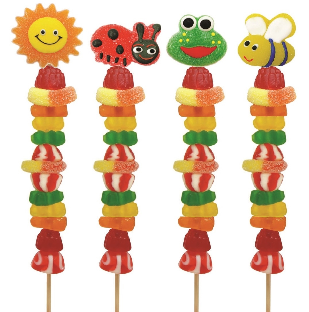 Gummy Garden candy Kabob Allisons