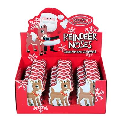 Rudolph S Reindeer Noses Tin