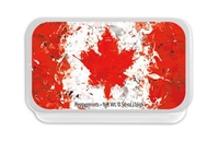 M - Splatter Canadian Flag Mint Tin (24)