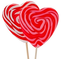 allisons heart lollipop