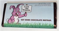 allisons milk chocolate save the bunnies  bar