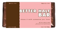 allisons milk chocolate better half bar