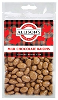 Allison's Canada Milk Chocolate Raisins 57g (12)