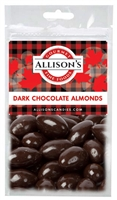 Allison's Canada Dark Chocolate Almonds 57g (12)