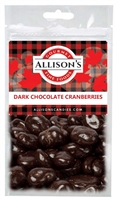 Allison's Canada Dark Chocolate Cranberries 57g (12)
