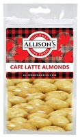 Allison's Canada Cafe Latte Almonds 57g (12)