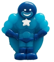 Allison's Super Hero Gummy Candy 1 KG Blue on Blue