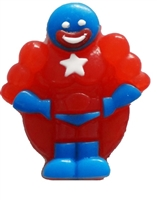 Allison's Super Hero Gummy Candy 1 KG Red