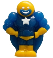 Allison's Super Hero Gummy Candy 1 KG Blue with Yellow