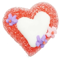Allison's Jelly Heart With Flowers Candy 1KG
