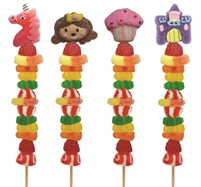 Princess Candy Kabob