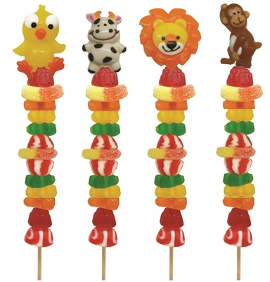 Allisons Gummy Fun Mix Candy Kabobs