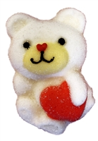 ALLISON'S MARSHMALLOW BEAR WITH HEART 12 G X 1 LB