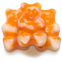 Orange Cream Gummy Bears 5LB