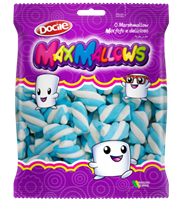 Docile Max Mallow - 12x250g (6lbs) - Blue/White