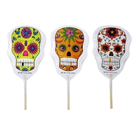 Day of the dead lollipops 12