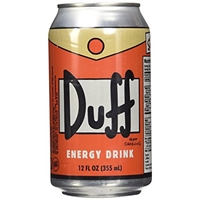 Duff Energy Drink 6 CT