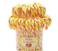 Jelly Belly Pina Colada Candy Canes 80 count
