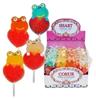Jelly Frog With Heart Lollipop (24)