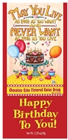 Happy Birthday Chocolate Cocoa Packets wholesale