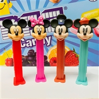 Pez Disney Blister Pack - Mickey Mouse & Friends (12)