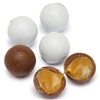 Chocolate/Caramel Balls (White) 5LB