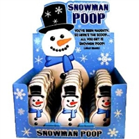 Snowman Poop Jelly Bean Tin