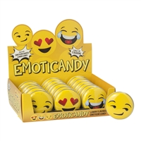 Emoticandy Tin - Lemon Flavored Candies (18)